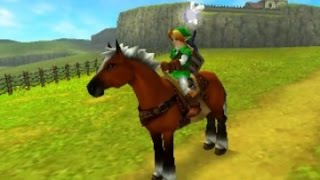 The Legend of Zelda: Ocarina of Time 3D 100% Walkthrough Part 9 - Acquiring Epona / To Forest Temple