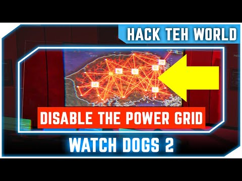 Watch Dogs 2 - Hack Teh World - Disable The Power Grid In Seoul, Korea Solution