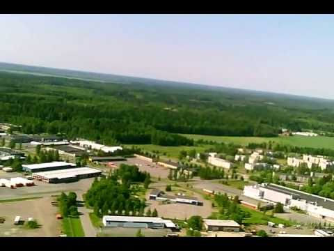 Aerial video from Forssa(EFFO), Finland, part 1
