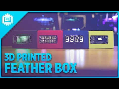 3D Printed Feather Box