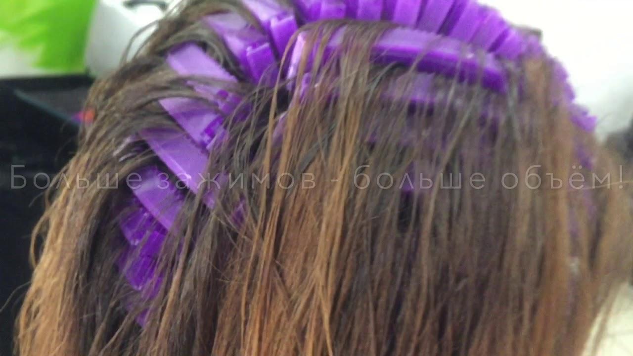 3D_Volume - прикорневой объем волос - YouTube