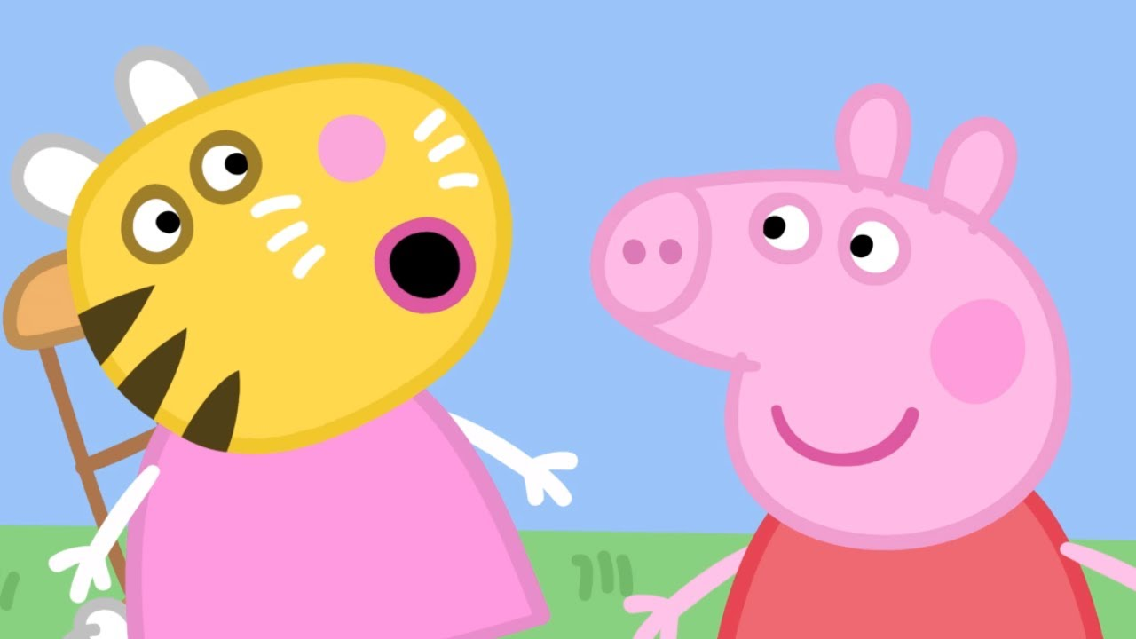 Peppa Pig Official Channel Peppa Pig S Fun And Games Compilation