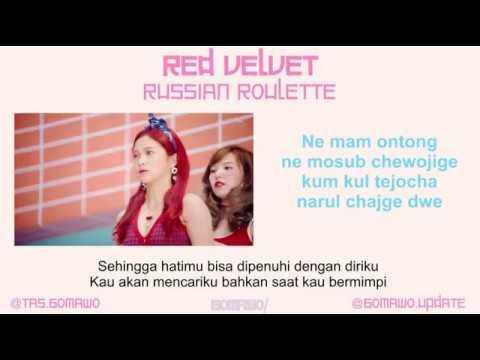 RED VELVET - RUSSIAN ROULETTE [MV, EASY LYRIC, LIRIK INDONESIA]