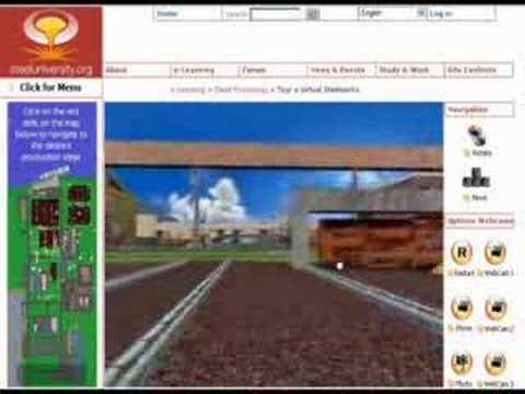 Web3D Steelworks Virtual World