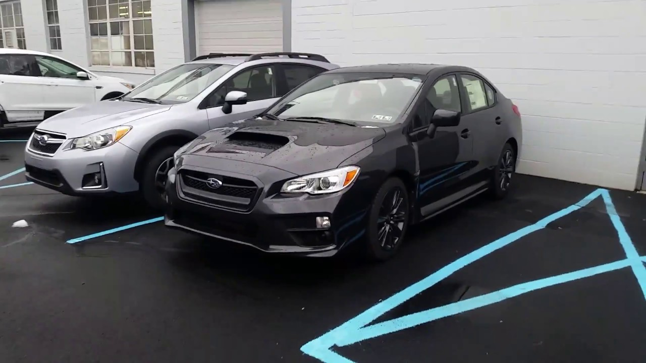 2017 Subaru Wrx 2 0i Turbo