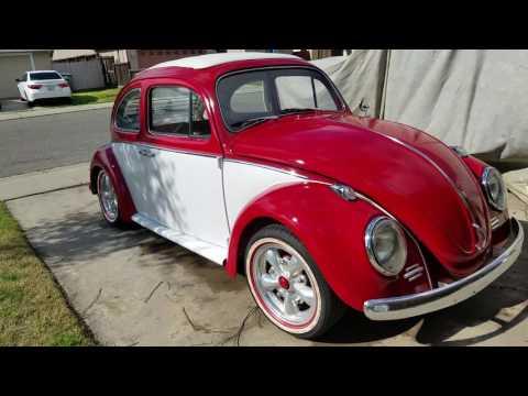 1963 Volkswagen Bug Ragtop for sale Modesto Ca part 1