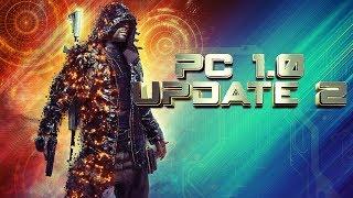 PLAYERUNKNOWN'S BATTLEGROUNDS PC 1.0 UPDATE 2 - PUBG PC 1.0 Patch 2