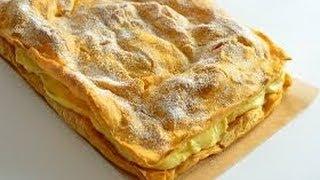Торт Карпатка рецепт приготовления Tort Karpatka Пляцок Карпатка рецепти тортів домашні пляцки