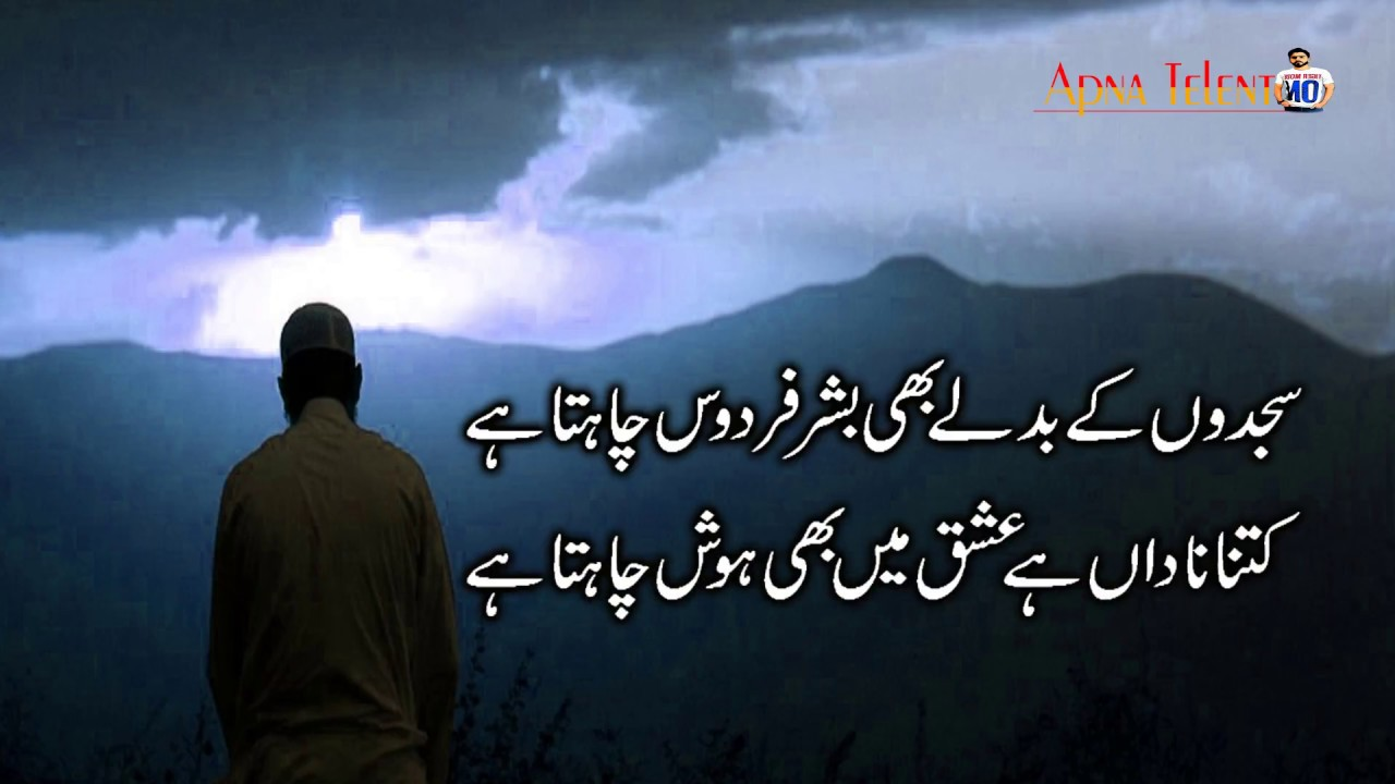 Ishq Poetry 💓 ISHQ Shayari | Best Urdu Sad Poetry Collection