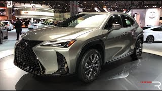 2019 Lexus UX200 – Redline: First Look – 2018 NYIAS