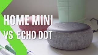 Google Home Mini vs Amazon Echo Dot, ¿Cuál es el mejor MINI altavoz inteligente de los dos?