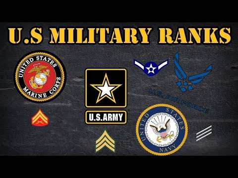 Comparing  The Different Ranks In The US Military