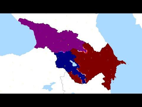 Azerbaijan Vs Armenia Vs Georgia