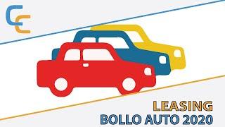 Leasing e bollo auto 2020