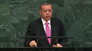 أردوغان يدعو الحكومة العراقية لإلغاء استفتاء كردستان