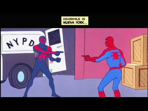 Spider-Man 2099 Travels To 1967 Spider-Man Into The Spider-Verse