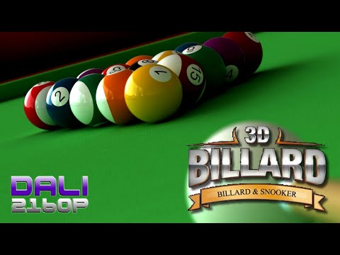 3D Pool: Billiards and Snooker (8 Ball) PC 4K Gameplay 2160p