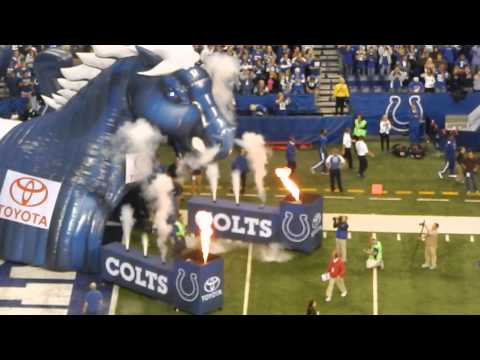 2013 Indianapolis Colts Starting Line-up (Oct.20 @Lucas Oil Stadium)