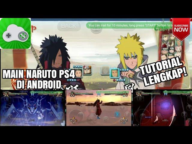 Download Naruto Shippuden Ultimate Ninja Storm 4 APK Android