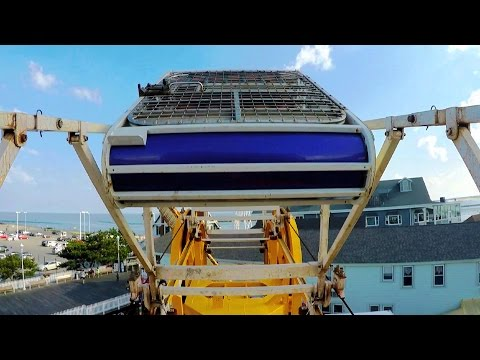 Zipper on-ride HD POV @60fps Trimper's Rides