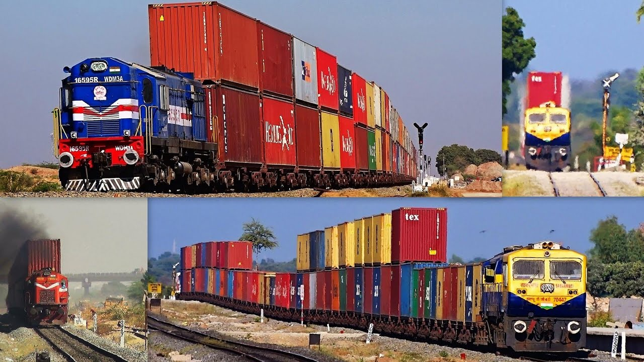 Free Car History Report >> DOUBLE-STACK RAIL TRANSPORT INDIAN RAILWAYS : COMPILATION ...