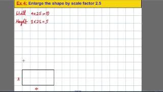 Transformations - enlarging shapes (1)