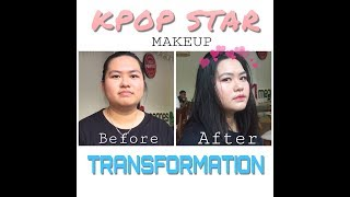 KPOP STAR MAKEUP TRANSFORMATION | Trang ROSIE Beauty ( with English sub )