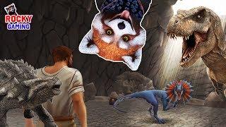 - РОККИ играет в Jurassic Survival Часть 2. 12