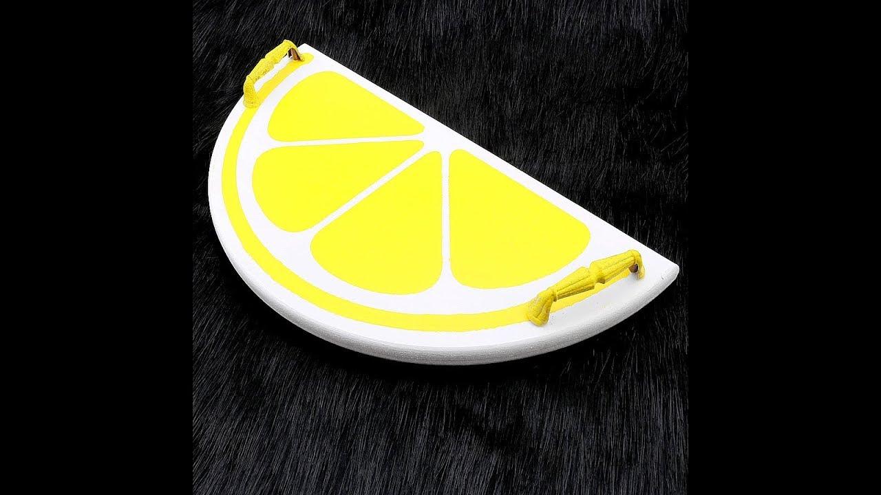 Yarim Dilim Limon Tepsi Yapimi Youtube