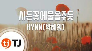 [TJ노래방] 시든꽃에물을주듯 - HYNN(박혜원) / TJ Karaoke
