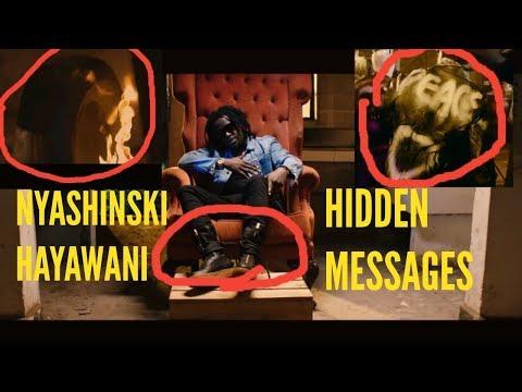 Nyashinski Hayawani Hidden messages.