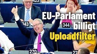 EU-Parlament stimmt für Uploadfilter und Copyright-Reform