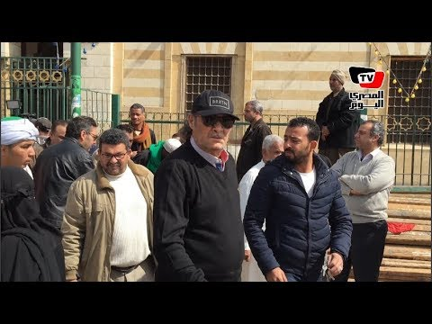بحضور محمود حميدة وفاروق الفيشاوي تشييع جثمان الفنان محمد متولي  - 13:21-2018 / 2 / 18
