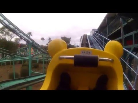 Phoenix Zoo Amusement Park 宮崎市 フェニックス自然動物園 遊園地 マッド・マウス ゆるいジェットコースター
