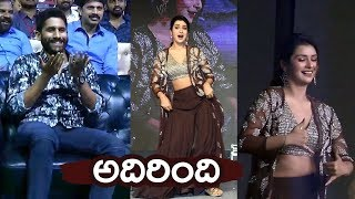 Payal Rajput and Raashi Khanna Super Energetic Dance Performance |@Venky Mama Pre Release Event | FL