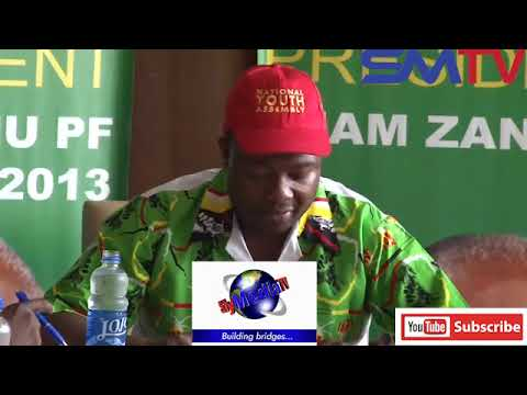 Press Conference fight btwn Former Army General Chiwenga vs