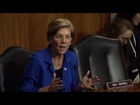 Senator Warren Asks HHS Nominee Alex Azar About Plans for the Affordable Care Act