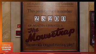 The Mousetrap is #BackOnStage   World's longest running play