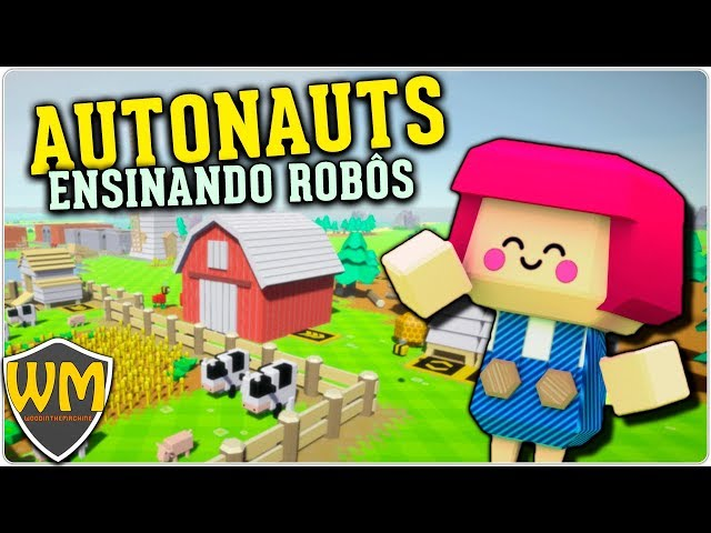 Autonauts #13 - Cogumelos e Ervas! - Gameplay PT BR