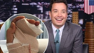 Jimmy Fallon finger saved from amputation by Bellevue doctors after