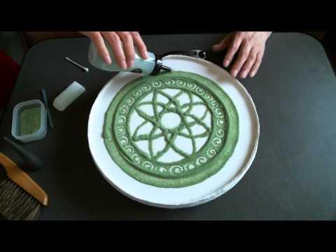 How to Sand Art Mandala