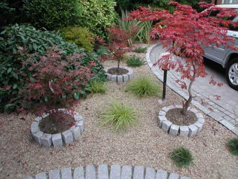 Low maintenance garden designs for small gardens youtube for Small no maintenance garden