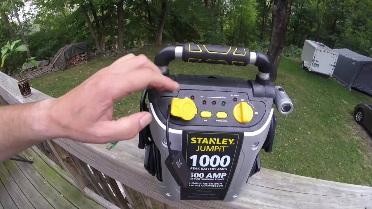 Stanley jumpit 1000, my impressions