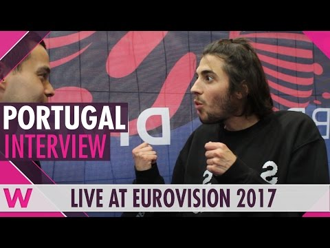 Salvador Sobral (Portugal) interview @ Eurovision 2017 | wiw