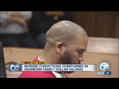 Murder convictions overturned in Dearborn Family Dollar killings