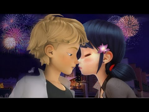 Miraculous Ladybug Speededit: First Kiss (Adrienette)