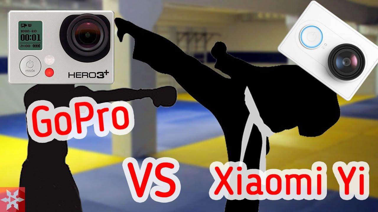 Xiaomi Yi VS GoPro Hero 3 Black Edition
