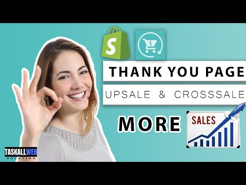 Best Shopify app for thank you page Reconvert upsale & crosssales | Shopify tutorials thumbnail