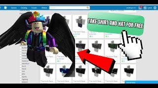 HOW ROBLOX PLAYERS CAN NOW GET HATS AND SHIRTS FOR FREE! | (NO BC) 2019 FREE ROBLOX ITEMS