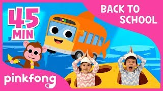 Baby Shark and 20+ songs | Back to School with Pinkfong |+Compilation | Pinkfong Songs for Children